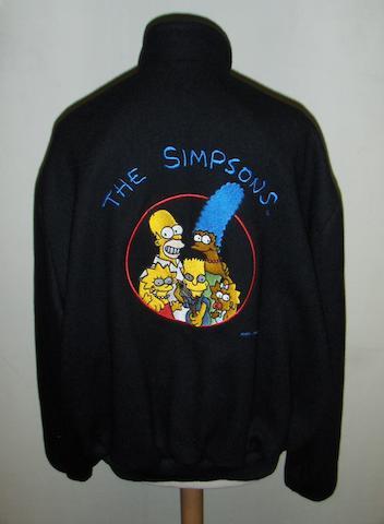 A family portrait 'Simpsons' jacket,