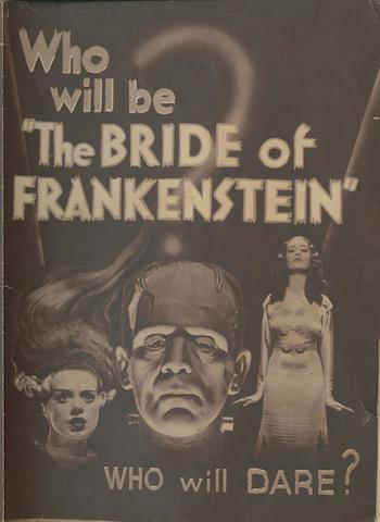 The Bride Of Frankenstein, Universal Pictures, 1935,