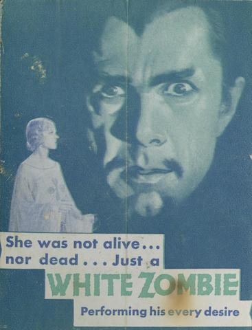 White Zombie, United Artists, 1932,