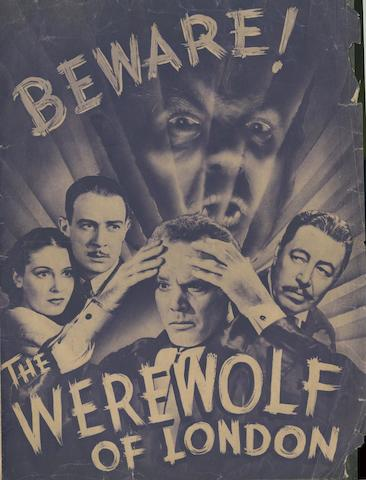 The Werewolf Of London, Universal Pictures, 1935,