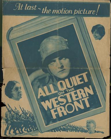 All Quiet On The Western Front, Universal Pictures, 1930,