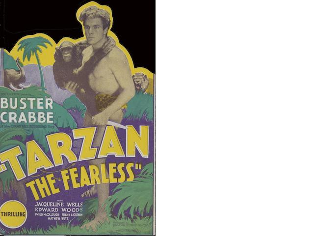 Four Tarzan film related promotional handbills, film titles including;4