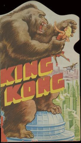 King Kong, RKO Radio Pictures, 1933,