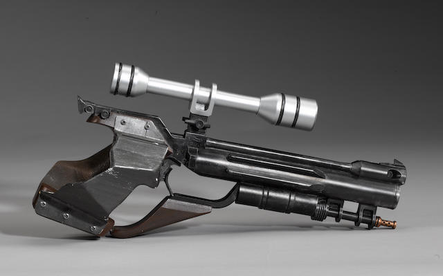 'Star Wars: Episode I The Phantom Menace', a Naboo security guard blaster,