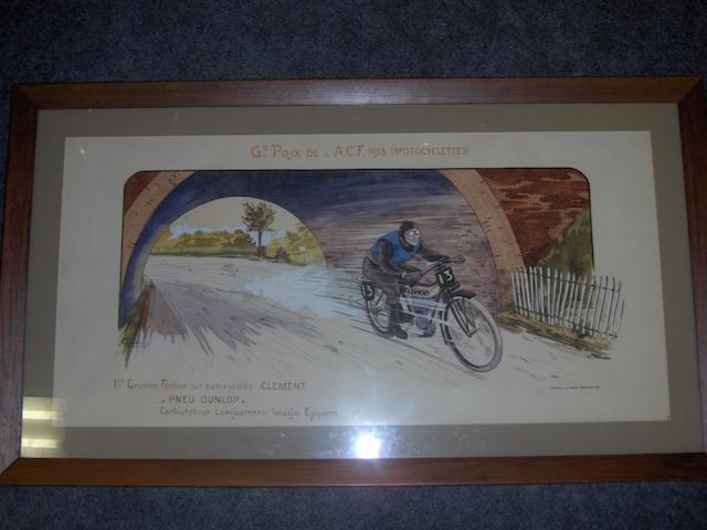 Grand Prix de l' A C F 1913 (Motorcyclettes),,