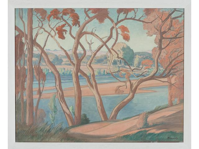 (n/a) Jacob Hendrik Pierneef (South African, 1886-1957) Olifants Rivier (Mpumalanga), Northern Transvaal 60 x 75 cm. (23½ x 29½ in.)