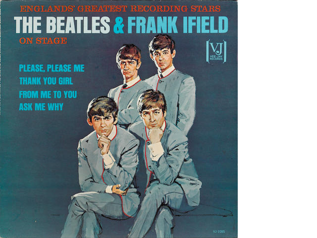 A rare pressing of the album 'England's Greatest Recording Stars The Beatles & Frank Ifield On Stage