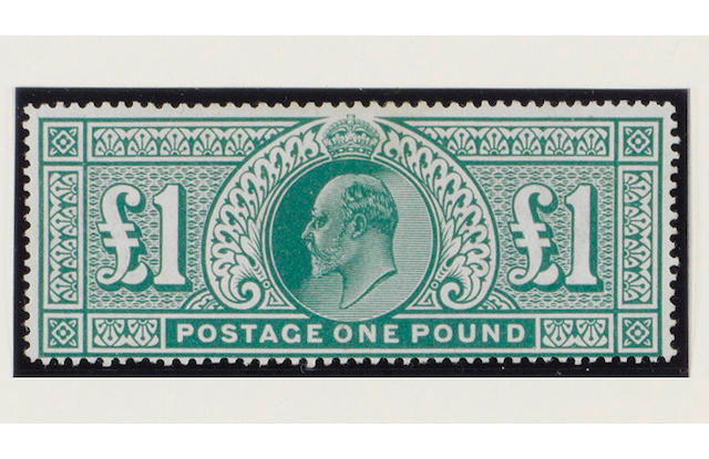 1902-13 K.E.VII: A selection with 1902-10 De La Rue  ½d. to £1 mint (some gum disturbance), ½d. to £1 used, also Harrison perf. 15 x 14 ½d. to 4d. mint and used, mixed condition.