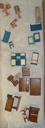 Dinky (pre-war) Dolly Varden dolls house furniture