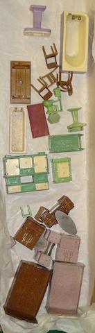Dinky (pre-war) Dolly Varden dolls house furniture