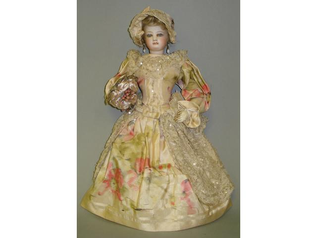 Francois Gaultier bisque shoulder head fashion doll, circa 1870