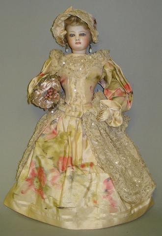Francois Gaultier bisque shoulder head fashion doll, circa 1870