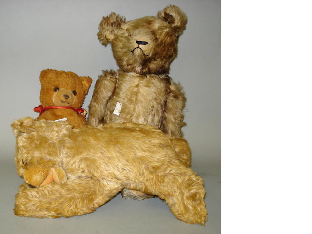 Steiff 'Floppy Zotty' Teddy bear, German 1950's 3
