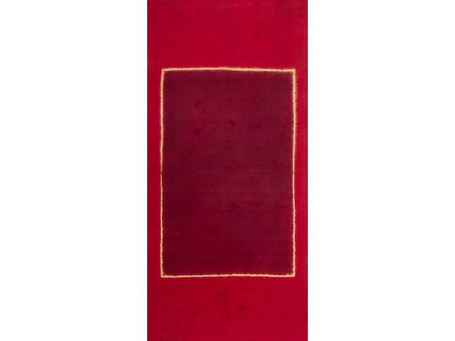 A shawl, Lawon 19th Century, Palembang, South Sumatra, Indonesia mounted, 169cm x 83cm