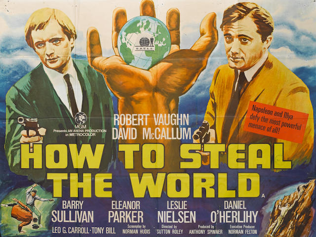 A large collection of seventy-five film posters, the majority being U.K. Quad posters, titles including; 75