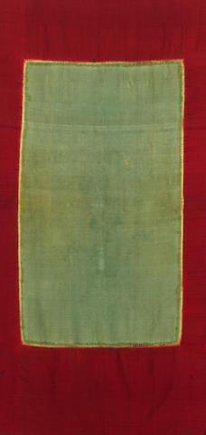 A shawl, Lawon 19th Century, Palembang, South Sumatra, Indonesia mounted, 185cm x 80cm