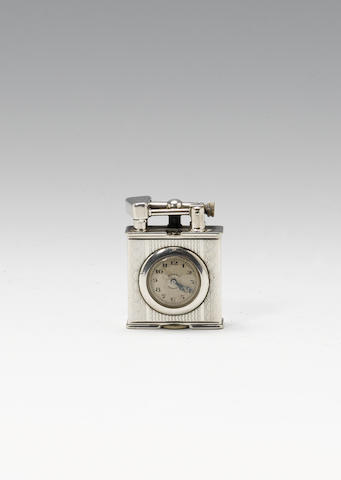 A Parker Beacon (Dunhill) watch/lighter