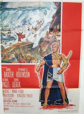 The Ten Commandments, Paramount Pictures, 1956,
