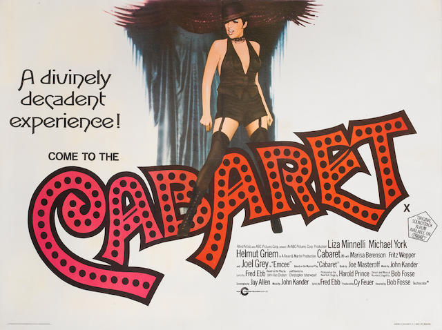 Cabaret,  Allied Artists, 1972,