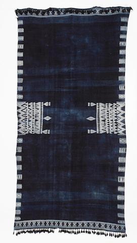 A shawl, Bakhnuq Tunisia 202cm x 100cm