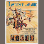 A large collection of approximately fifty-five film posters, posters including: