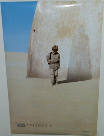 Two Star Wars: Episode I The Phantom Menace posters, Twentieth Century Fox, 1999, 3