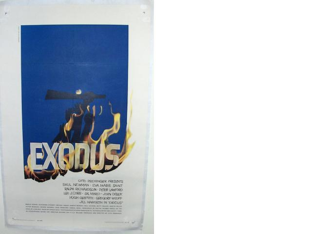 Exodus, United Artists, 1960,