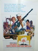 Three Steve McQueen related film posters, including; The Cincinnati Kid, Metro-Goldwyn-Mayer, 1965, The Sand Pebbles, Twentieth Century Fox, 1966 and The Getaway, National General Pictures, 1972,