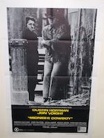 Two U.S. one-sheet cult film posters, The Manchurian Candidate, United Artists, 1962 and The Midnight Cowboy, United Artists, 1969,