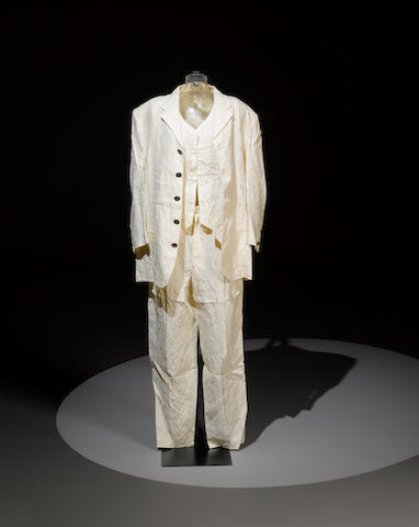 Elton John's Versace suit, as worn in the video for 'Can You Feel The Love Tonight'