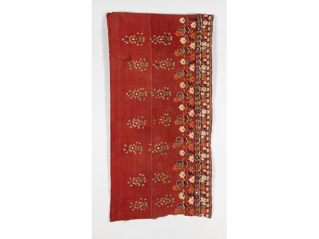 Seventeen Indian textiles Rajasthan and Gujarat, India the mashru cloths average length 190cm; the skirt panels average length 185cm. 17