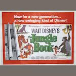 Two Jungle Book film posters,  Walt Disney Pictures, 1967,2