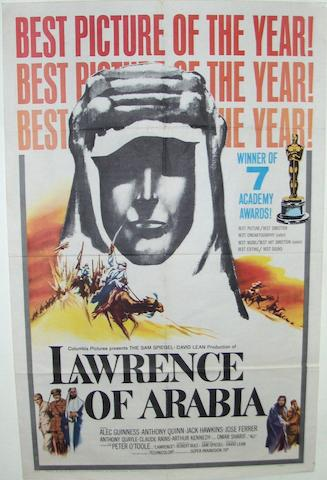 Two Lawrence Of Arabia film posters, Columbia Pictures, 1962, 2