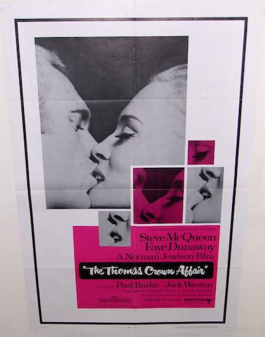 Two Steve McQueen film posters, comprising;2