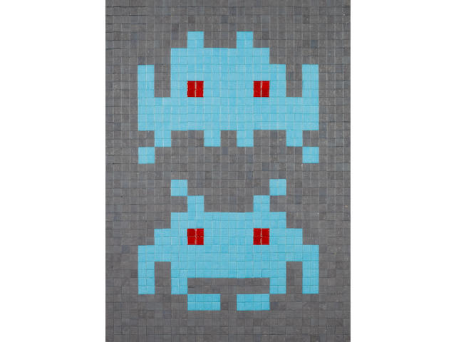 Invader (born 1969) 'Duo', 2004