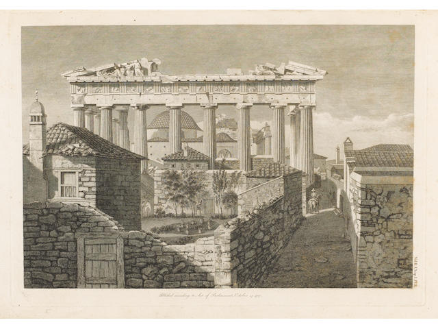 STUART (JAMES) and NICHOLAS REVETT The Antiquities of Athens, vol. 2-4 only