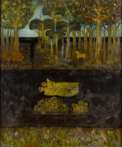 Suad Al-Attar (Iraq, b. 1942) Garden