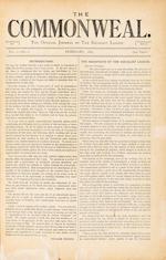 MORRIS (WILLIAM) The Commonweal, 6 vol [parts 1-256]
