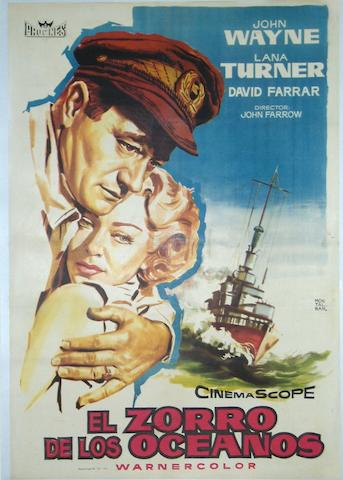 The Sea Chase (El Zorror De Los Oceanos), Warner Bros., 1955,