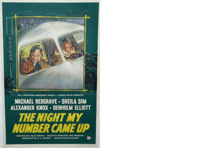 The Night My Number Came Up, J. Arthur Rank, 1955,