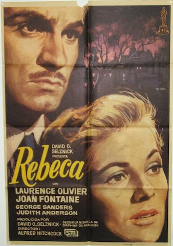 Rebecca, United Artists, 1940, 9 items
