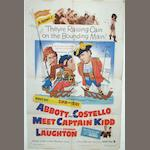 Abbott and Costello Meet Captain Kidd, Warner Bros., 1952,