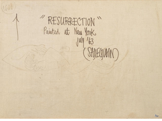Sadequain (Pakistan, 1937-1987) Resurrection