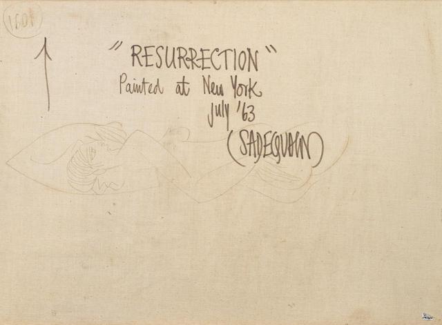 Sadequain (Pakistan, 1937-1987) Resurrection
