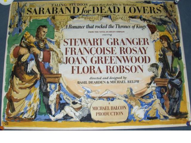 Saraband for Dead Lovers, Ealing Studios, 1948,