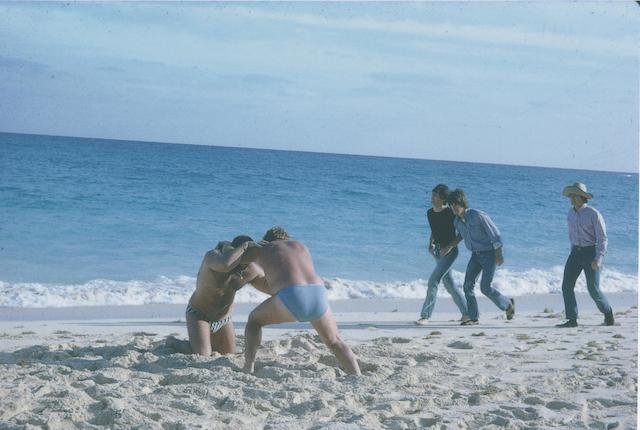 Unpublished photographs of the Beatles filming 'Help!' in the Bahamas, 1965,