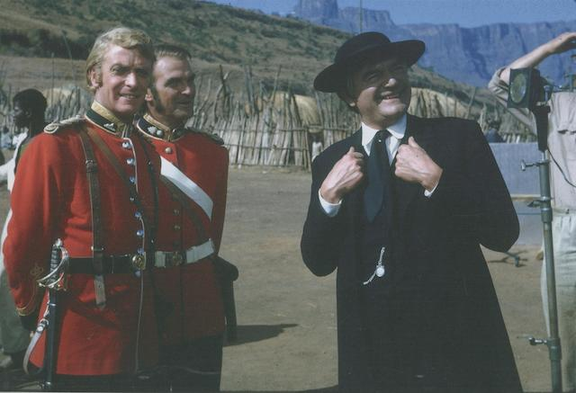 Unpublished photographs of the filming of 'Zulu', 1963,