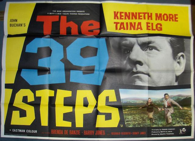 A collection of eight crime related UK Quad posters, titles including;8