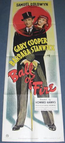 A collection of four film posters, including;