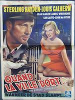 A collection of eight film posters, comprising seven Belgian and one Spanish, including;